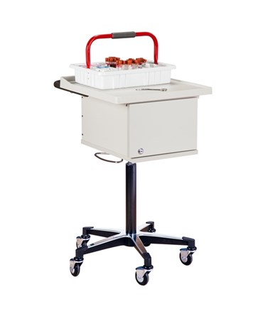 Two-Bin Phlebotomy Cart CLI67200