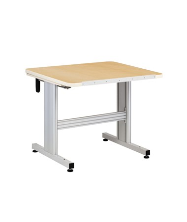 Hard Crank Patient Work Activity Table with Flat Top