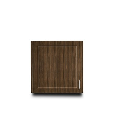 "Fashion Finish 24"" Wall Cabinet w/ 1 Door - Chestnut Hill"