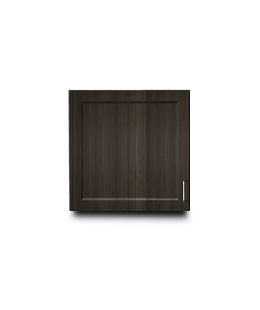 "Fashion Finish 24"" Wall Cabinet w/ 1 Door - Twilight"
