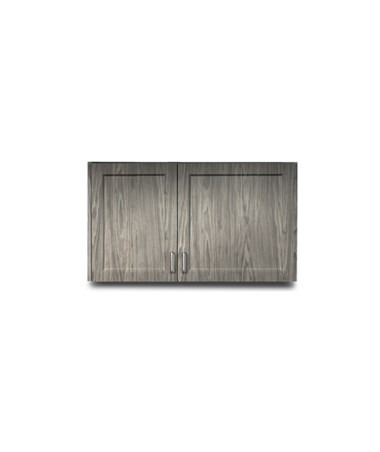 Fashion Finish Wall Cabinet w/ 2 Doors - 8342