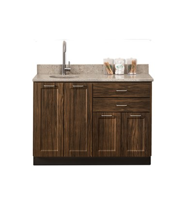 "Fashion Finish 48"" Base Cabinet - Chestnut Hill"