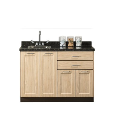 "Fashion Finish 48"" Base Cabinet - Sunlight Oak"