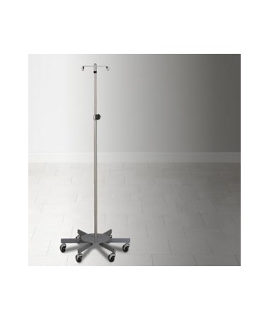 Stainless Steel Five Leg IV Pole CLIIVS-352