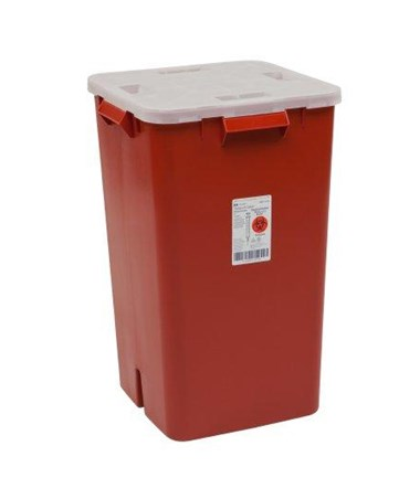 Container, 19 Gal, Red, 5/cs (Continental US Only)