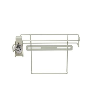 "Locking Bracket for 2 & 5 Qt In-Room Containers, 8¼""H x 6½""D x 11¼""W, 5/cs (63 cs/plt) (Continental US Only)"