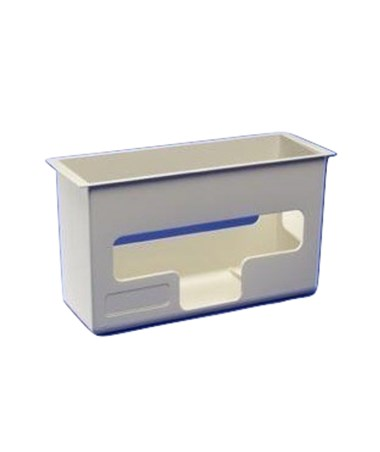 "Glove Dispenser, Top Loading, Attaches to 5 & 12 Qt Wall Enclosures, 6¾""H x 4½""D x 12""W, 10/cs (Continental US Only)"