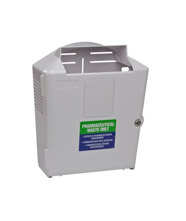 "Waste Disposal Container, 3 Gal Wall Enclosure, 17½""H x 6½""D x 14½"" W , 1/cs (45 cs/plt) (Continental US Only)"