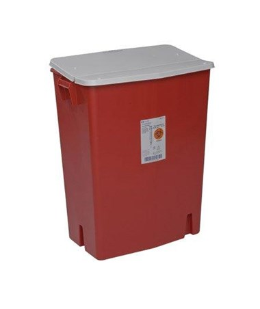 SharpSafety™ Sharps Container - Gasketed Hinged Lid COV8930SA-