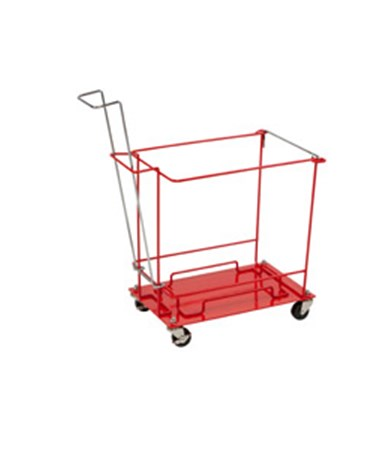 "Floor Cart Wheels For 8, 12, & 18 Gal Large Volume & Chemotherapy Containers, 22""H x 12¾""D x 22½5""W, 1/cs (Continental US Only)"