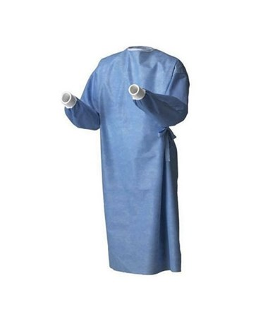 RoyalSilk® Non-Reinforced Surgical Gown COV9518-