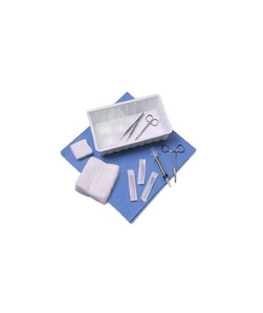 Presource® One Compartment Laceration Tray COVACS-S-LAC2