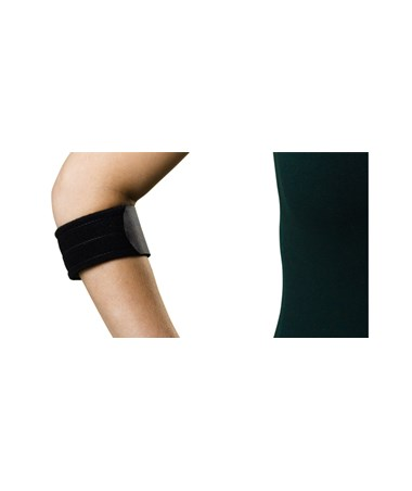 Curad Standard Tennis Elbow Compression Support Strap Plain Box