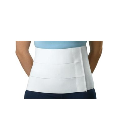Curad Tri-Panel Abdominal Binder Plain Box