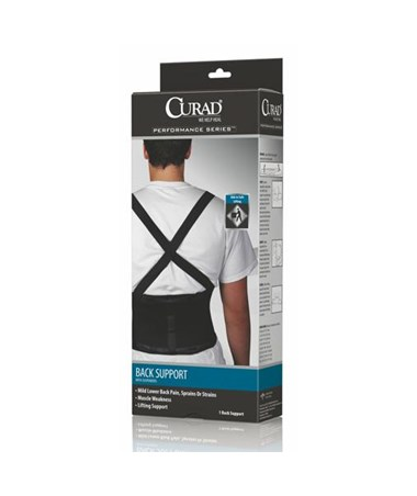 Back Support with Suspenders CURORT22200SDH-