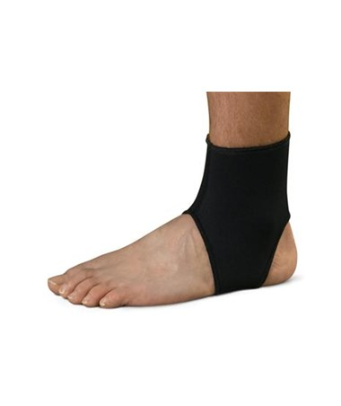 Curad Open Heel Ankle Support