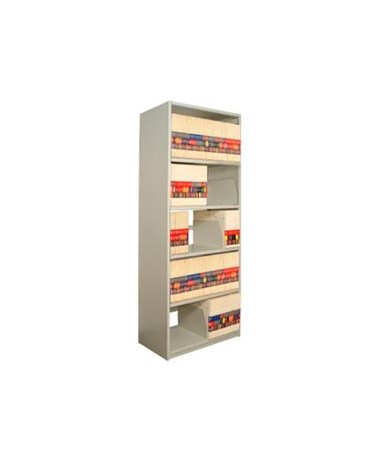 Datum 4Post™ X-Ray Shelving Adder Unit - 5 Openings