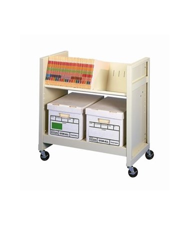 Datum FileCart™ with Utility Shelf DATBFC-1
