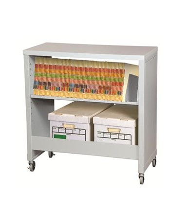 Datum FileCart™ Letter/Legal with Utility Shelf and Laminate Top