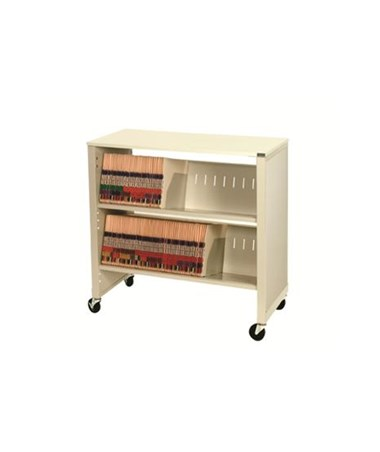 Datum FileCart™ - 2-Shelf with Laminate Top and End Panels DATBFC-2LEP