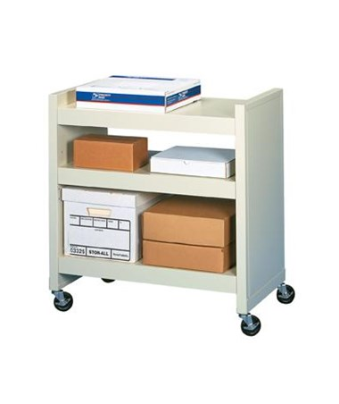 Datum FileCart™ - 3-Shelf Utility Cart with End Panels