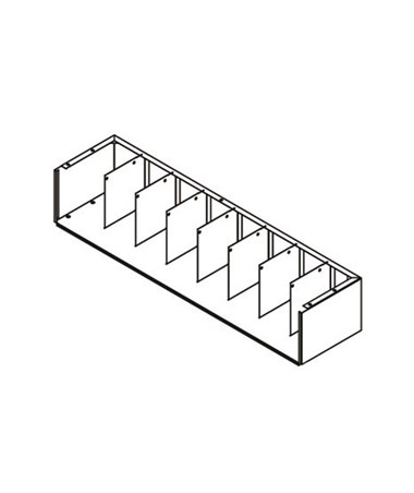 VuStak Mini Tier Shelving DATD2409+D2409TB-