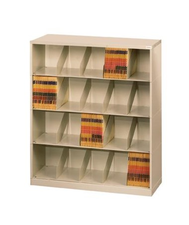 Datum ThinStak™ Letter-Size Open Shelf Filing System - 4 Tiers