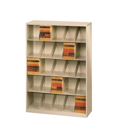Datum ThinStak™ Letter-Size Open Shelf Filing System - 5 Tiers