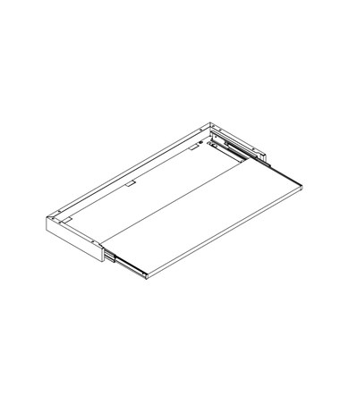 "Posting Shelf for 36"" Thinstak DATSOPS-36LT"