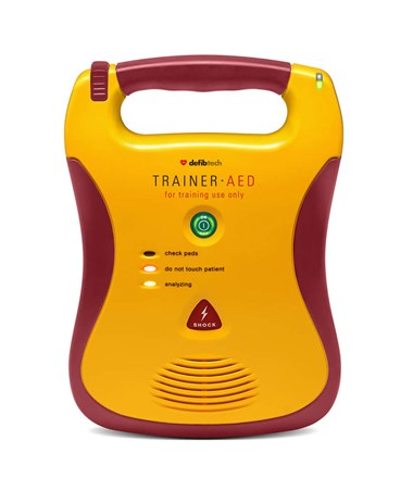 DEFDCF-A350T-EN Standalone Trainer AED Package - DDU-100TR Trainer AED