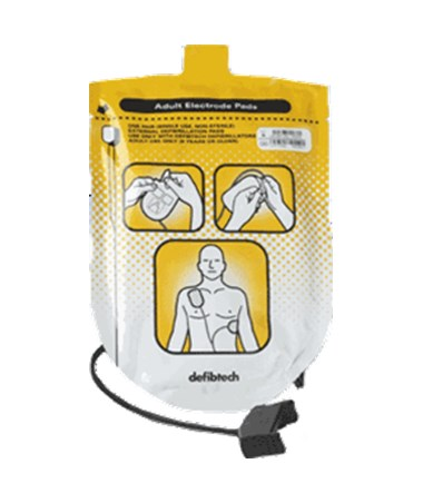DEFDDP-200P- Defibrillation Pads Package Lifeline and Lifeline AUTO AEDs - Adult