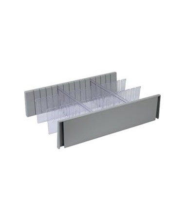 "6"" Drawer Divider Set for Rescue Series Medical Carts DETCARCDS6"