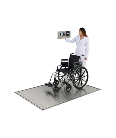 DETID-3636S-855RMP- Solace In-Floor Dialysis Scale - accomodates wheelchair