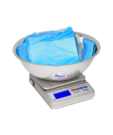 Detecto Mariner® Digital Scale with Utility Bowl DETWPS12UT