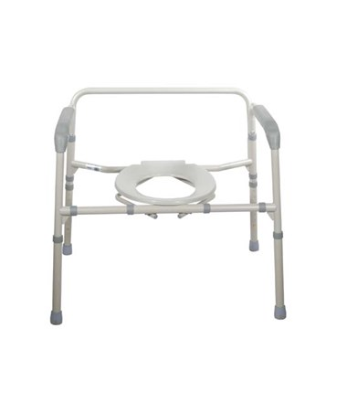 """Drive 11117N-1	Bariatric Folding Commode"""