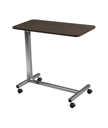 """Drive 13003 Non-Tilt Overbed Table, Chrome"""