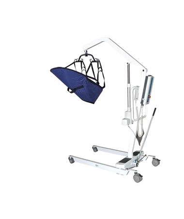 """Drive 13242 Bariatric Battery Powered Patient Lift with Six Point Cradle, Removable Battery"""