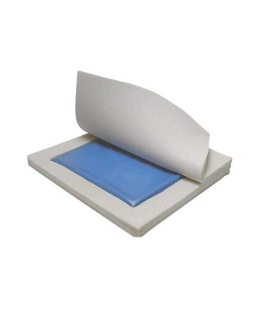 """Drive 14886 Skin Protection Gel ""E"" 3"" Wheelchair Seat Cushion"""