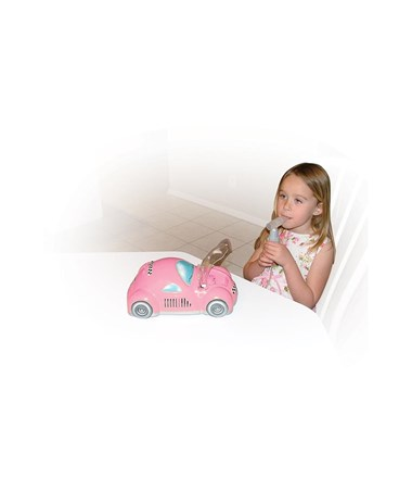 """Drive 18040-P Piston Powered Checker Nebulizer, Pink"""