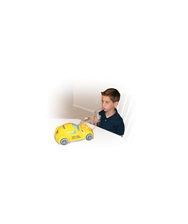 """Drive 18040-Y  	Piston Powered Checker Nebulizer, Yellow"""