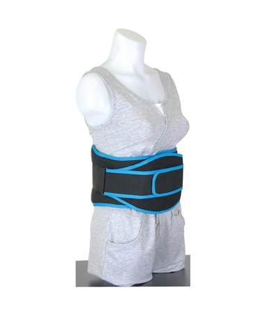 MJM 627S VerteWrap Low-Profile Back Support