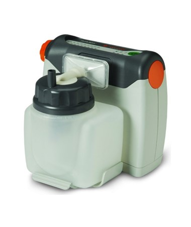 Vacu-Aide Compact Suction Unit with 725cc Reusable Bottle and Carrying Case DRI7310PR-D