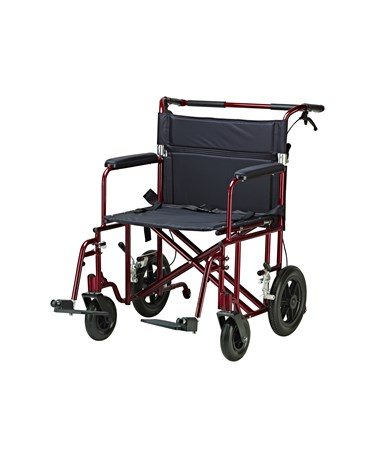 """Drive ATC22-R Bariatric Aluminum Transport Chair - Expended"""