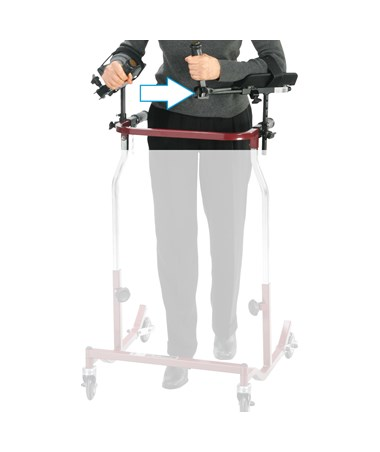 Forearm Platforms for all Wenzelite Posterior and Anterior Safety Roller and Gait Trainers DRICE1035FP