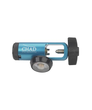 Chad CGA 870 Oxygen Regulator DRICH4815-L-BLUE-