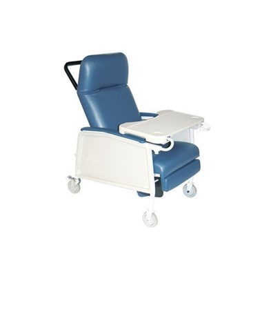 Drive D574EW-BR Three-Position Bariatric Recliner