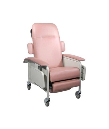 """Drive D577-R Clinical Care Geri Chair Recliner, Rosewood"""