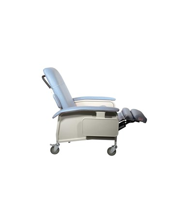 """Drive D577-BR Clinical Care Geri Chair Recliner, Blue Ridge"""