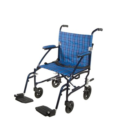 """Drive DFL19-BL Fly-Lite Aluminum Transport Chair """