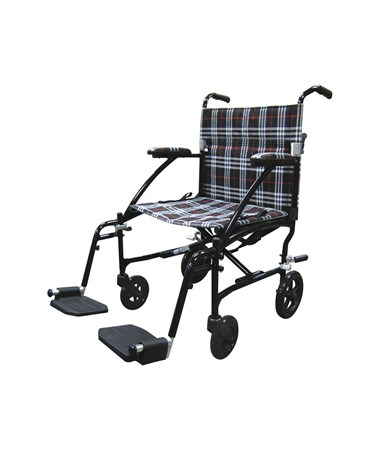 """Drive DFL19-BLK Fly-Lite Aluminum Transport Chair 